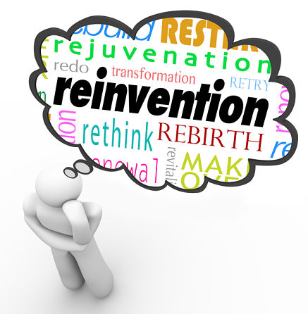 Reinvent Yourself: 3 Must Do's When Life Gets Too Turbulent